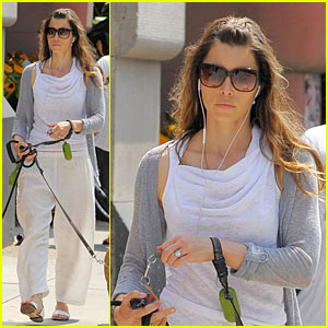 Jessica Biel: Tuesdays with Tina!