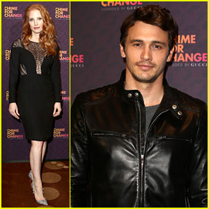 Jessica Chastain & James Franco: Chime for Change Concert!