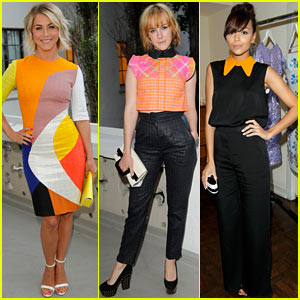 Julianne Hough & Jena Malone: Roksanda Ilincic Coctail Party!