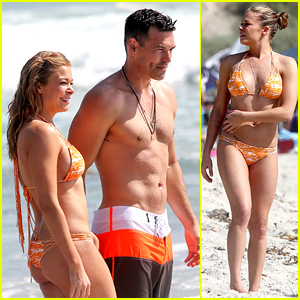 LeAnn Rimes: Bikini Beach Trip for Eddie Cibrian's 40th Bday!