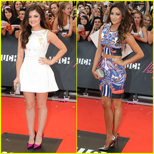 Lucy Hale & Shay Mitchell - MuchMusic Video Awards 2013
