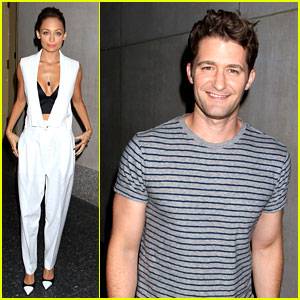 Matthew Morrison & Nicole Richie: 'Today Show' Guests!