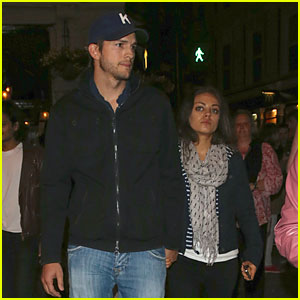 Mila Kunis & Ashton Kutcher: 'Curious Incident...' Play Date!