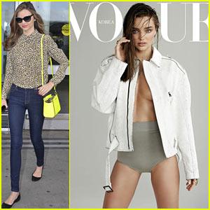 Miranda Kerr Covers 'Vogue Korea' July 2013
