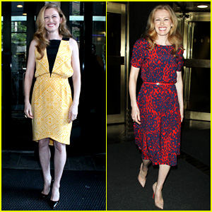 Mireille Enos: 'World War Z' Promo in New York!