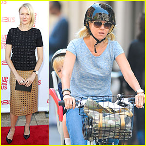 Naomi Watts: Up2Us Gala After Biking!