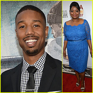 Octavia Spencer & Michael B. Jordan: 'Fruitvale Station' Premiere!
