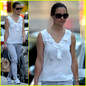 Pippa Middleton Talks Tennis in 'Vanity Fair' Guest Article!