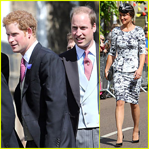 Prince William & Harry: Lady Melissa Percy Wedding with Pippa Middleton!