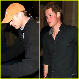 Prince William: Bachelor Party with Prince Harry!