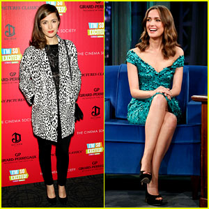Rose Byrne: 'I'm So Excited' Premiere & 'Fallon' Appearance!