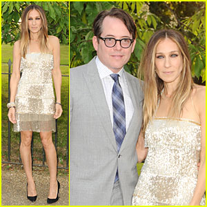 Sarah Jessica Parker & Matthew Broderick: Serpentine Gallery Summer Party!