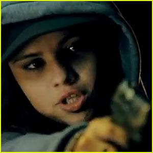 Selena Gomez Points Gun at Ethan Hawke in 'Getaway' Trailer!