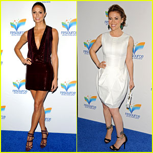 Stacy Keibler & Alyssa Milano: Resource Water Launch Event!