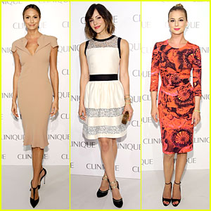 Stacy Keibler & Katharine McPhee: Dramatically Different Party!