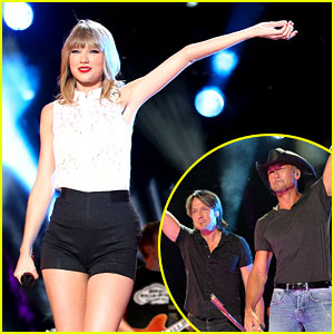 Taylor Swift, Keith Urban, & Tim McGraw: CMA Music Festival!