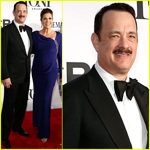 Tom Hanks: Tony Awards 2013 Red Carpet with Rita Wilson!