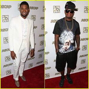 Usher & Ne-Yo: 2013 ASCAP Rhythm & Soul Music Awards!