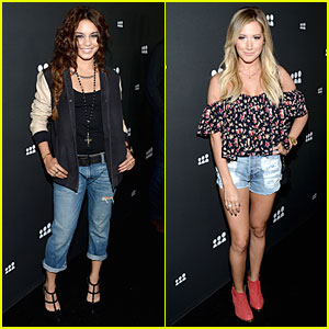 Vanessa Hudgens & Ashley Tisdale: New Myspace Launch!