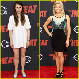 Megan Hilty & Zosia Mamet: 'The Heat' New York Premiere!