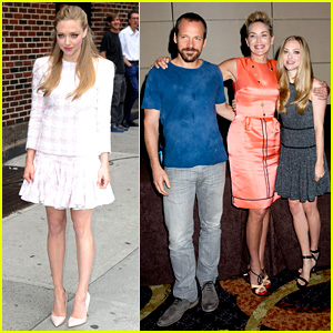 Amanda Seyfried: 'Lovelace' Promo Work in New York!