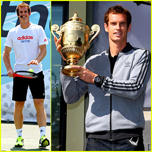 Andy Murray: Wimbledon Winners Photo Call!