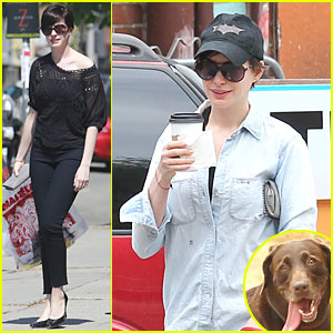 Anne Hathaway: Wasteland Shopping with Adam Shulman!