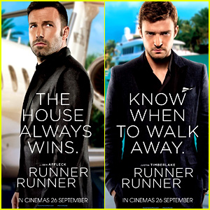 Ben Affleck & Justin Timberlake: 'Runner Runner' Posters!