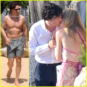 Benedict Cumberbatch Kisses Katia Elizarova in Ibiza