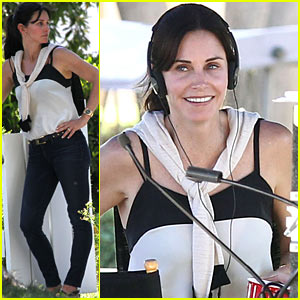Brian Van Holt on Courteney Cox: She's 'Phenomenal'!