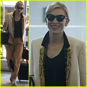 Cate Blanchett Said 'Yes' to 'Blue Jasmine' Before Reading Script!