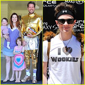 Chris Colfer & Alyson Hannigan: Course Of The Force Relay!