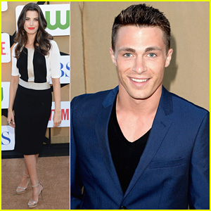 Colton Haynes & Meghan Ory: CW & CBS's Summer TCA Party!