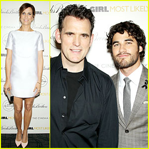 Darren Criss Honors Cory Monteith By Wearing Black Ribbon