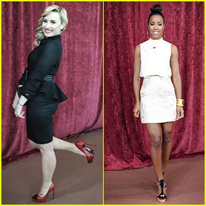 Demi Lovato & Kelly Rowland: 'X Factor' Denver Auditions!
