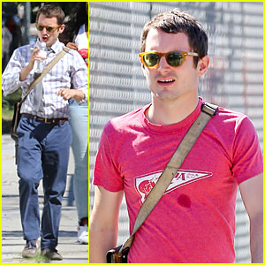 Elijah Wood: First Day of Shooting 'Cooties'!
