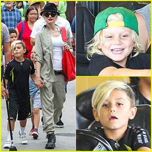 Gwen Stefani's Family Filled Knott's Berry Farm!
