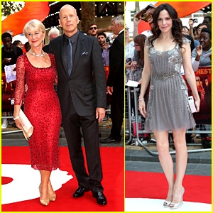 Helen Mirren & Bruce Willis: 'Red 2' London Premiere!