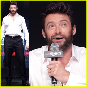 Hugh Jackman: 'Wolverine' Press Conference in South Korea!