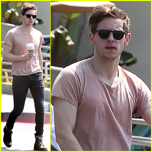 Jamie Bell: Grocery Run in Pacific Palisades