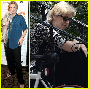 Jane Lynch Steps Out Following Cory Monteith's Death