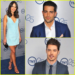 Jesse Metcalfe & Jordana Brewster: TNT's 25th Anniversary Party!