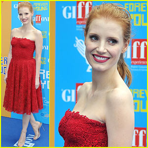 Jessica Chastain: Giffoni Film Festival 2013 Honoree!