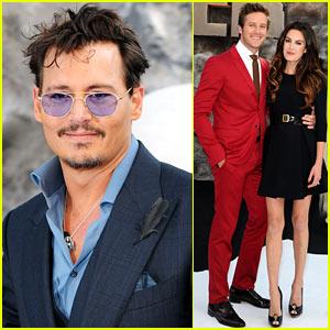 Johnny Depp & Armie Hammer: 'Lone Ranger' UK Premiere!