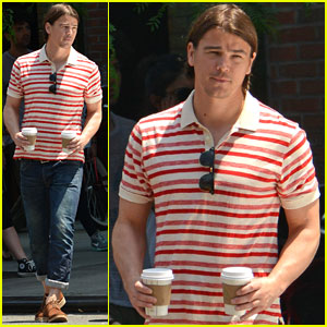 Josh Hartnett: Coffee for Two in NYC