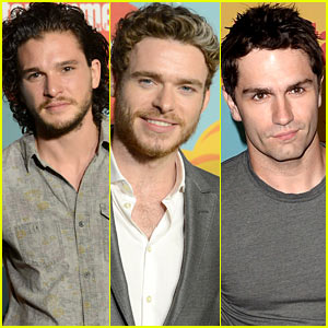 Kit Harington & Richard Madden: EW's Comic-Con 2013 Party!