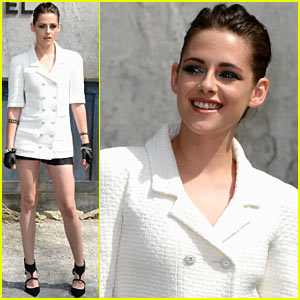 Kristen Stewart: Chanel Paris Fashion Week Presentation!