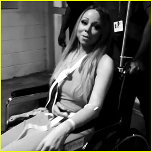 Mariah Carey Posts Video Leaving Hospital Wearing Arm Sling