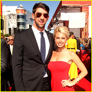 Michael Phelps & New Girlfriend Win McMurry - ESPYs 2013