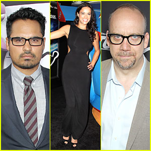 Michelle Rodriguez & Paul Giamatti: 'Turbo' NYC Premiere!